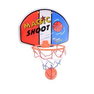 Kids Funny Mini Portable BasketBall Hoop Toy Toilet Desk Basketball Game
