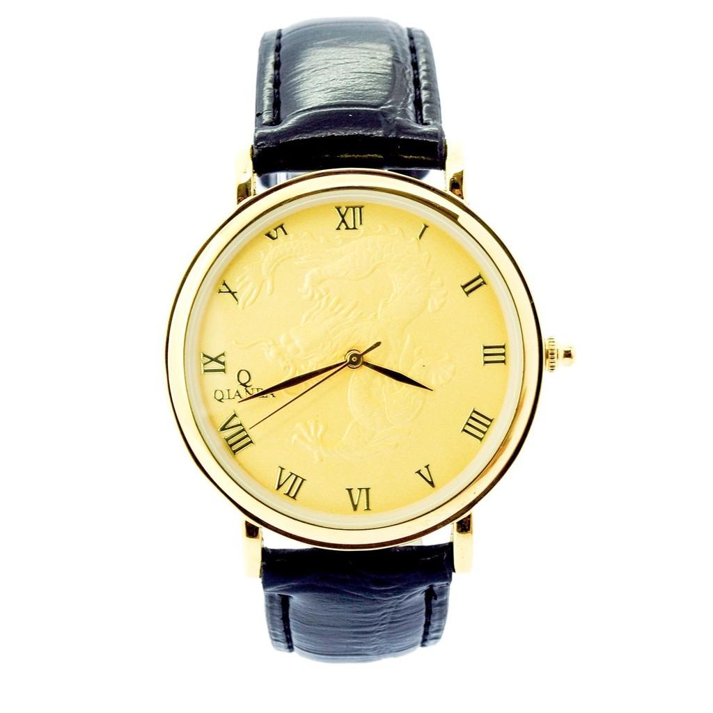 Đồng hồ nam Qianba dây da mặt chạm rồng màu vàng - 2421239 , 101040614 , 322_101040614 , 457000 , Dong-ho-nam-Qianba-day-da-mat-cham-rong-mau-vang-322_101040614 , shopee.vn , Đồng hồ nam Qianba dây da mặt chạm rồng màu vàng