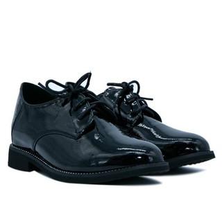 Giày oxford giả da đế 3cm Aokang 192431042 Đen
