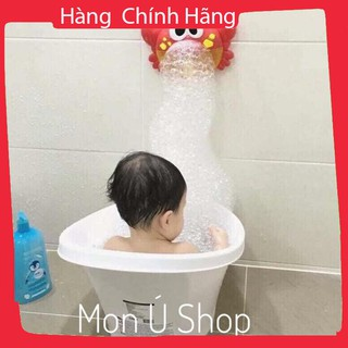 [CLIP THẬT TỰ QUAY] Cua thổi bong bóng phát nhạc cho bé cực hot | Đồ chơi nhà tắm cho bé