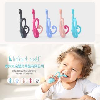 Bàn chải silicon giúp bé tập đánh răng hình chú voi ngộ nghĩnh