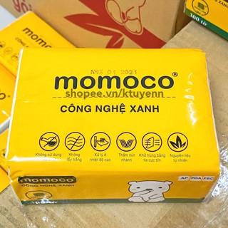 Khăn giấy gấu trắng MOMOCO dai mịn công nghệ xử lý xanh 3