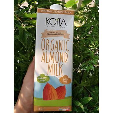 ORGANIC - (1lit) Sữa hạnh nhân hữu cơ Koita - B