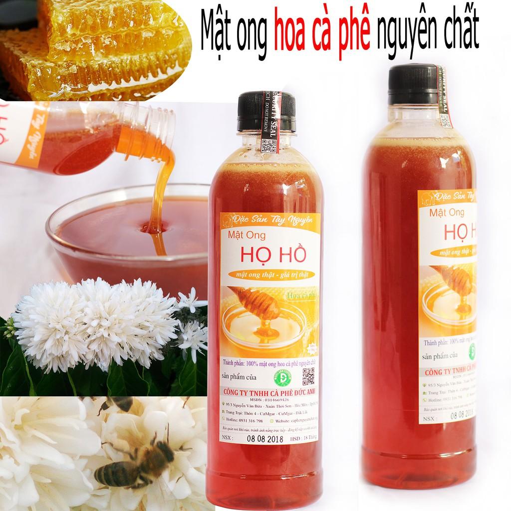 1 Lít mật ong nguyên chất hoa cà phê - Mật ong HỌ HỒ mật ong thật giá trị thật _đổi trả nếu không vừa ý