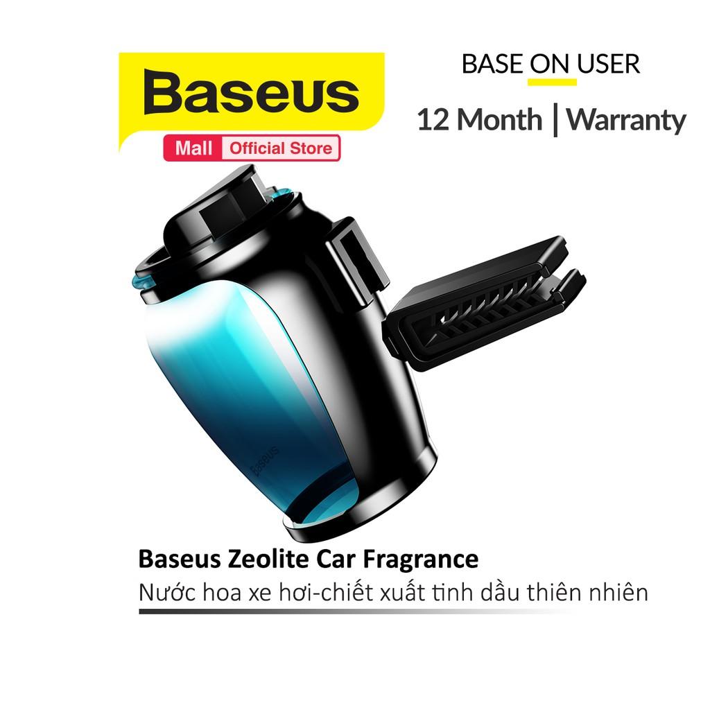 Nước hoa xe hơi Baseus Zeolite Car Fragrance hương thơm tinh dầu thiên