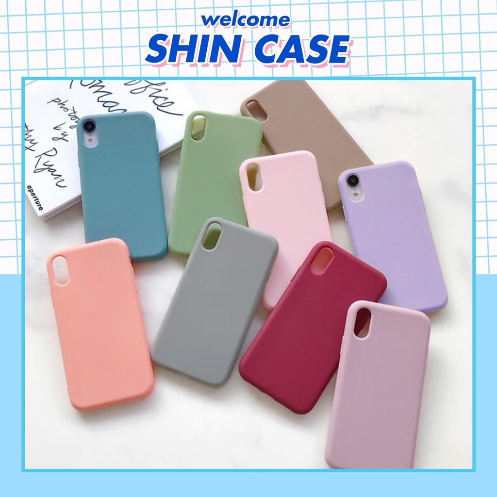 Ốp lưng iphone TRƠN DẺO 7 MÀU 5/5s/6/6plus/6s/6s plus/6/7/7plus/8/8plus/x/xs/xs max/11/11 pro/11 promax – Shin Case