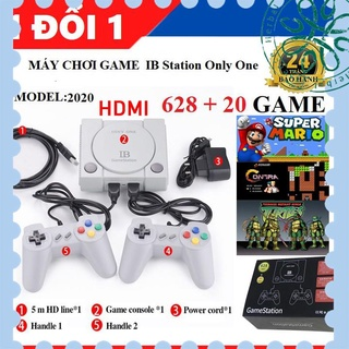 [người bán địa phương] Máy Chơi Game 628 trò nes + 20 trò mới , Chuẩn HDMI , playstation , tay cầm game , máy chơi game thumbnail
