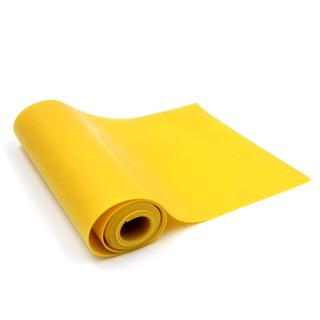 """(0.75mm – Rẻ mà chất) Cuộn 1m thun """" Type A """" dày 0.75mm siêu rẻ – siêu chất lượng (Màu vàng)"""