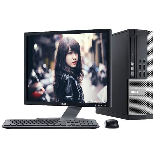 Cây Dell OPTIPLEX 790 Sff, U02S2 (CPU Core i7-2600, Ram 8GB, SSD 256GB, DVD) tặng USB Wifi, bảo hành 24...