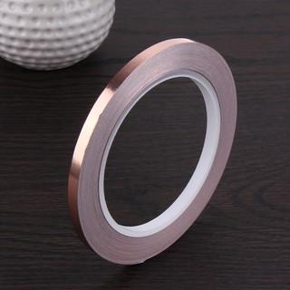 Cuộn Băng Keo Đồng Lá Đồng 20m 6mm