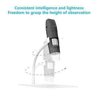 Kính hiển vi mini không dây kết nối wifi 2.0MP có độ nét cao và đèn LED chiếu sáng tiện dụng kèm phụ kiện thumbnail