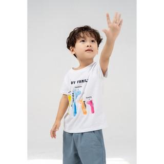 Áo phông trẻ em YODY family mềm mịn co giãn tốt, thoáng mát KID4019 thumbnail