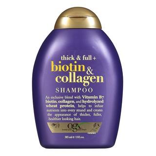 Dầu gội Biotin & Collagen OGX Thick & Full - Mỹ - 385ml