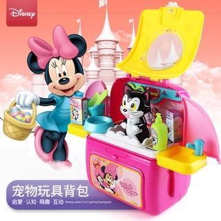 Disney Ba Lô Đựng Đồ Trang Điểm Hình Chuột Mickey / Minnie Đáng Yêu Cho Thú Cưng