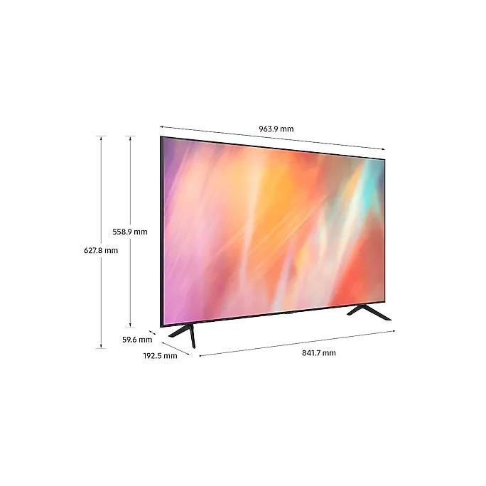 [Mã ELMALL1TR giảm 5% đơn 3TR] Smart Tivi Samsung Crystal UHD 4K 43 inch UA43AU7700KXXV - Miễn phí lắp đặt