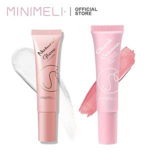 MINIMELI Kem bắt sáng và má hồng dạng lỏng dùng cho trang điểm với sắc tố cao 40g thumbnail