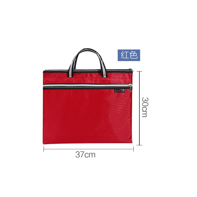 กระเป๋าเอกสารแบบพกพาธุรกิจแพคเกจเอกสาร A4 ผู้ชายและผู้หญิงกระเป๋าเอกสารการประชุม