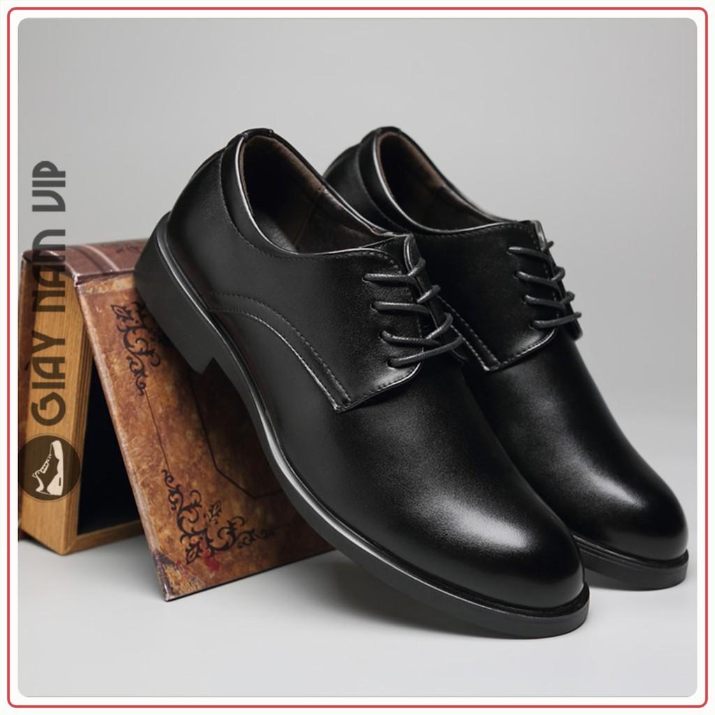 Giày Nam Cao Cấp - FREESHIP - Giày Da Nam Hàn Quốc Nam Tính GD55