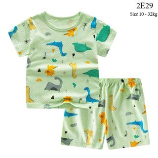 [Mã KIDMALL12 hoàn 15% xu đơn 150K] Set bộ quần áo cộc tay cho bé trai bé gái (từ 1 - 8 tuổi) VEMZKIDS 6 mẫu hè thumbnail