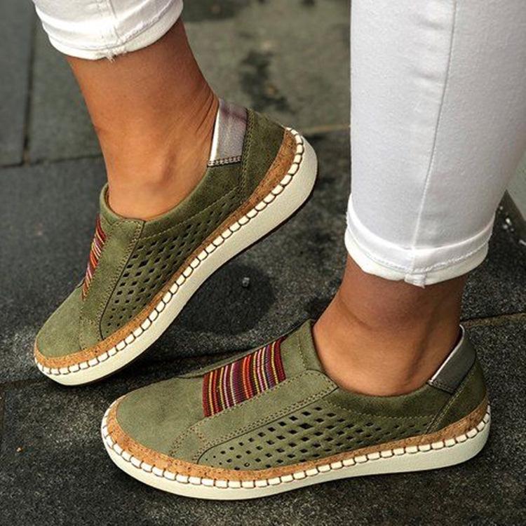 Giày nữ mũi tròn kiểu dáng thời trang