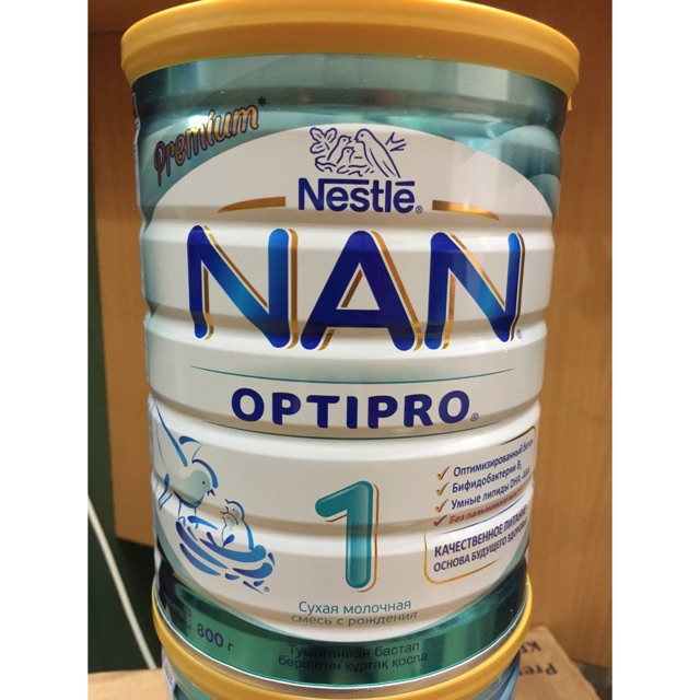 Sữa nan Nga số 1 800g date t8/2020