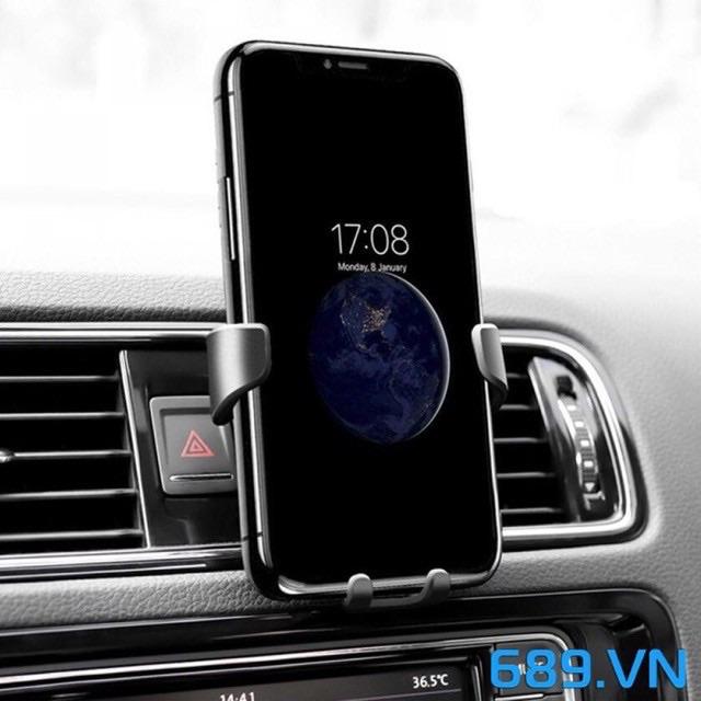 Kẹp điện thoại, giá đỡ điện thoại trên xe hơi, xe ô tô Cao cấp
