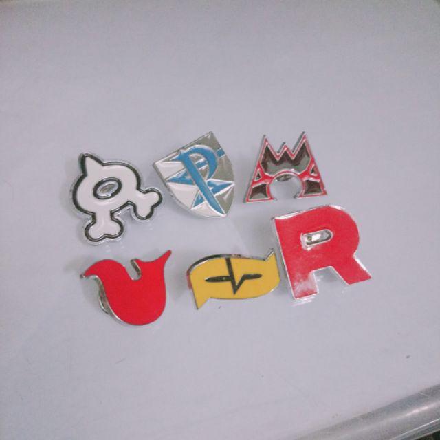 Huy hiệu các tổ chức trong pokemon