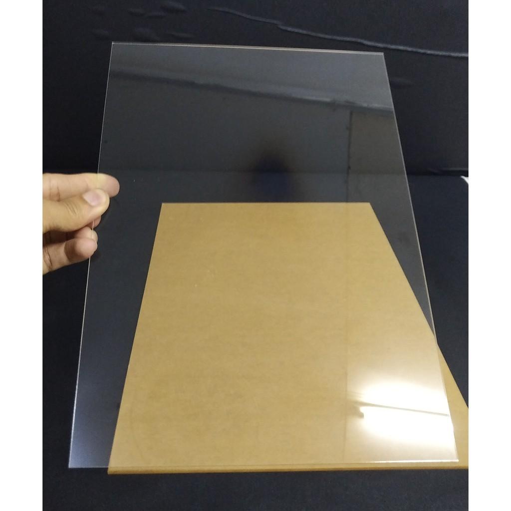 Combo 5 tấm mica trong kích thước 20x30 cm dày 3 mm