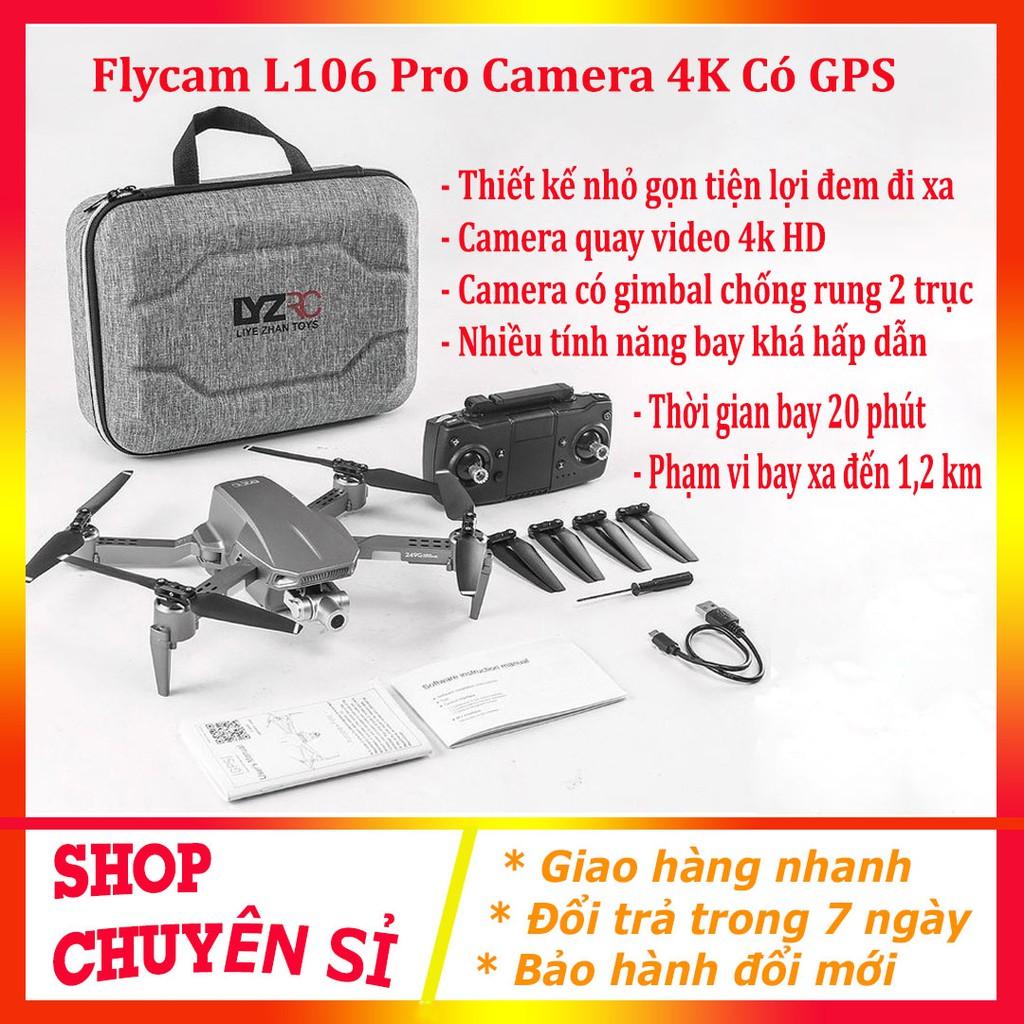 Flycam Giá Rẻ LYZRC L900 Pro 2021 ⚡️𝐅𝐑𝐄𝐄 𝐒𝐇𝐈𝐏⚡️ Máy Bay Camera Drone 4K – Gimbal 2 Trục – Động Cơ Không Chổi Than