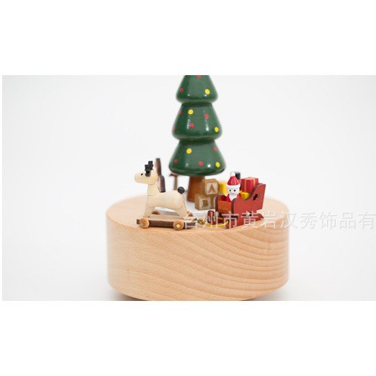 Hộp nhạc cổ điển Noel