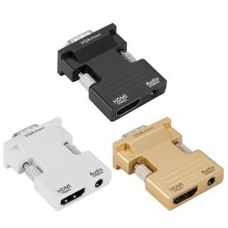 Đầu chuyển đổi cổng HDMI sang lỗ cắm VGA hỗ trợ tín hiệu 1080P