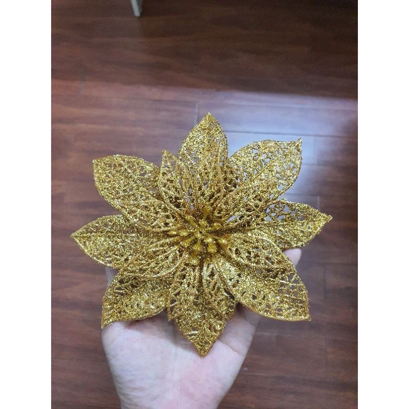 Bông hoa Trạng nguyên KIM TUYẾN CÁNH LƯỚI làm oản,giỏ quà Tết