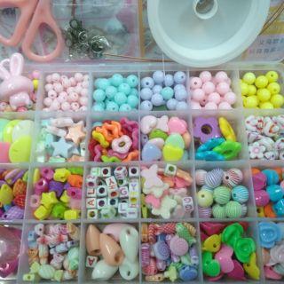 Bộ hạt đồ chơi cho bé sáng tạo (24 ngăn)