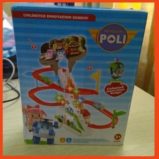 Đồ chơi ô tô leo cầu thang Poli -Hotsale