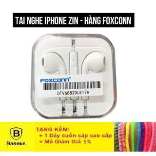 Tai Nghe Iphone Có Mic - Tai Nghe Zin Foxconn Cho Điện Thoại - Hàng Chính Hãng Bảo Hành 1 Tháng Lỗi 1 Đổi 1