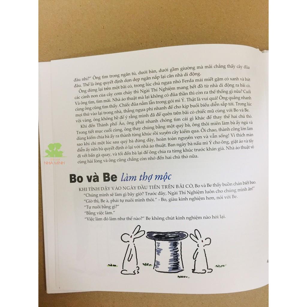 Sách - Bo Và Be - Đôi Thỏ Tinh Nghịch