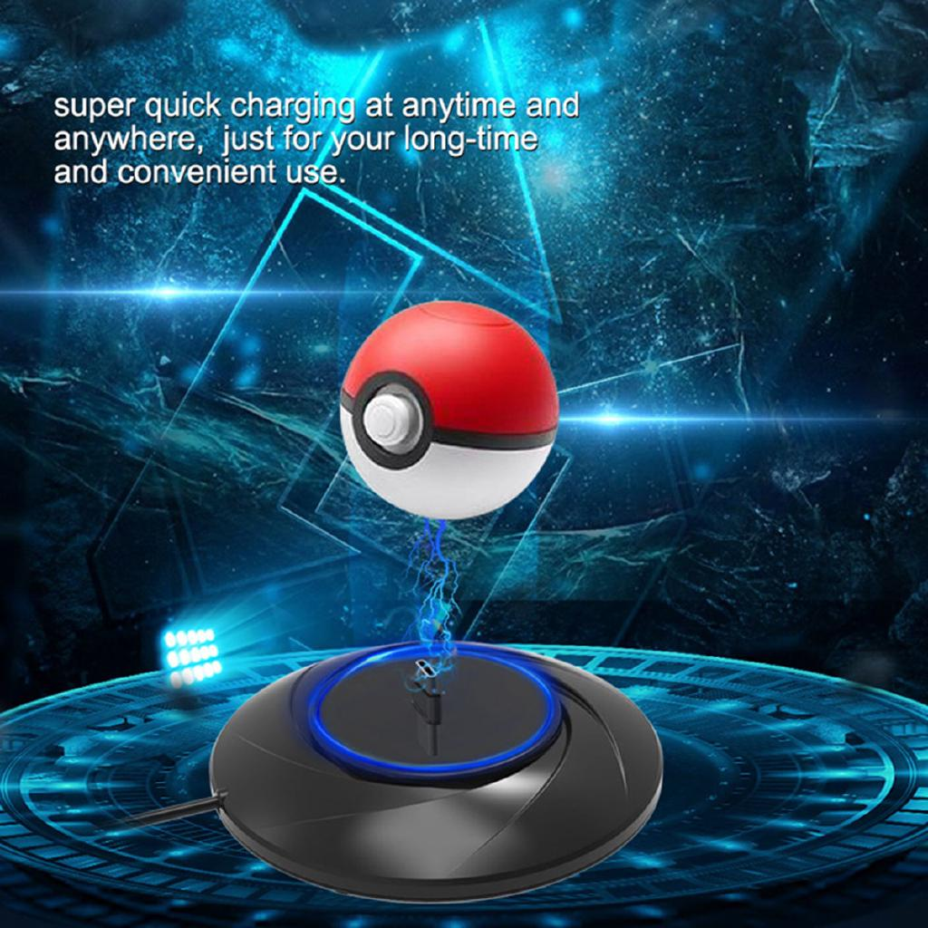 For Drop&Charger Fast Charging Stand Base Poke mon Poke Ball Plus