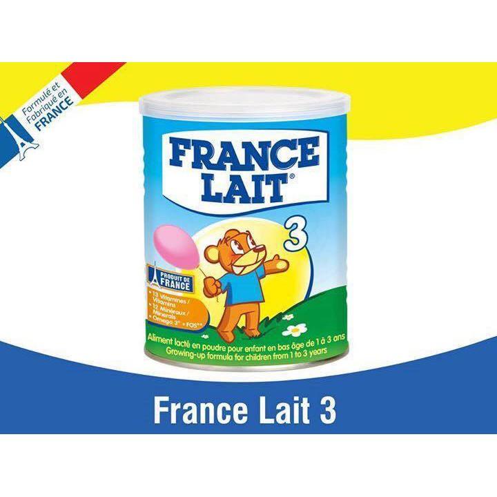 France Lait 3 loại 400gr