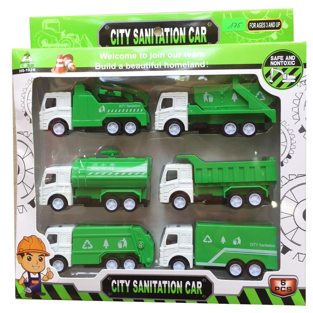 Hộp 6 ô tô bảo vệ môi trường
