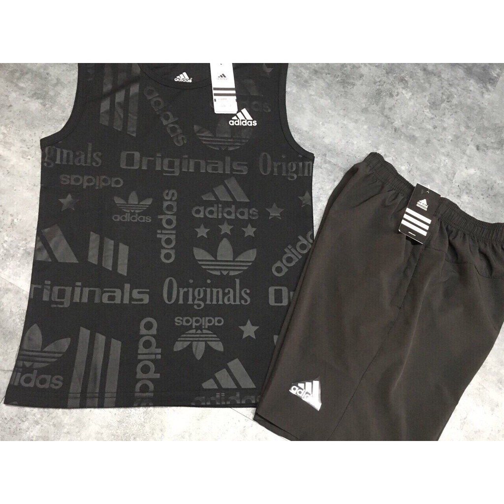 [Hiepnguyen ]Bộ thể thao sát nách cao cấp Adidas Original