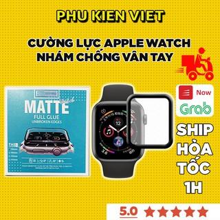 Cường lực apple watch nhám full màn chống vân tay ROCKYMILE Series SE/6/5/4/3/2/1 Size 38 40 42 44MM - Phụ Kiện Việt