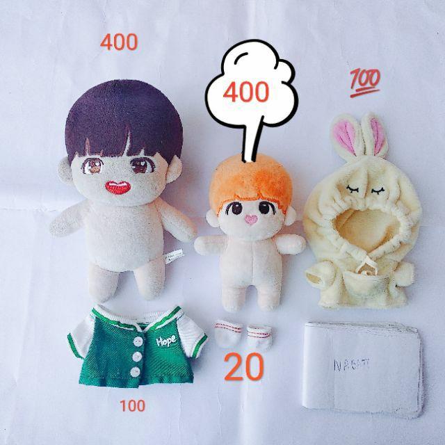 Set doll BTS JHOPE ZzanggeunHope ver 1 BaeHope