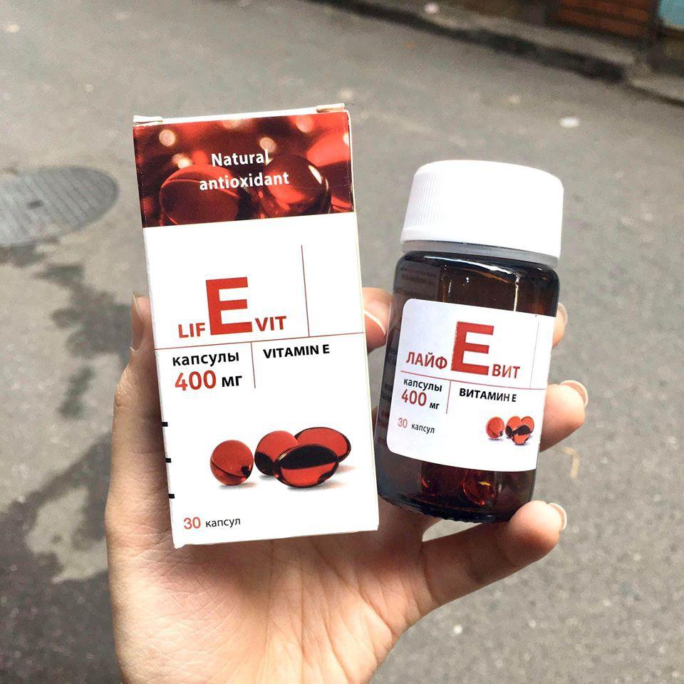 Vitamin E Đỏ Nga 400mg