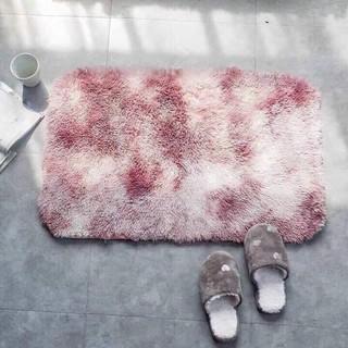 Thảm lông trải sàn 40x60cm nhiều màu có lớp chống trơn trượt thumbnail