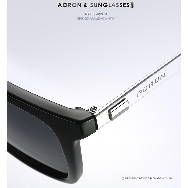 Kính mát phân cực thời trang AORON 387 - ROBEO