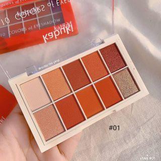 Bảng màu mắt kabuki tone 1