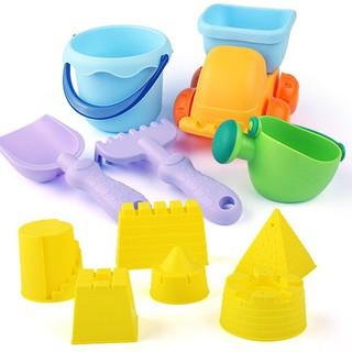Hộp đồ chơi hình lâu đài cát cho bé