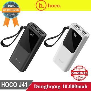 Sạc dự phòng Hoco J41 10.000mah ♥️Freeship♥️ Giảm 30k khi nhập MAYT30 - Pin sạc dự phòng Hoco