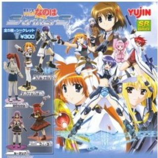 Gashapon SR Magical Girl Series Lyrical Nanoha StrikerS , hàng yujin