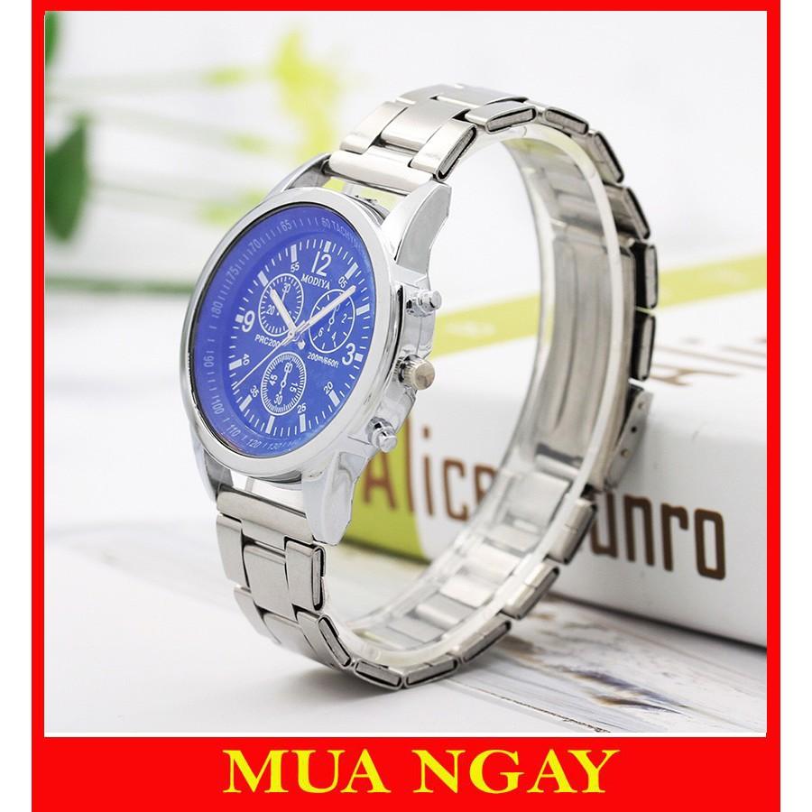 Đồng hồ nam dây kim loại cao cấp Modiya cực đẹp DH104